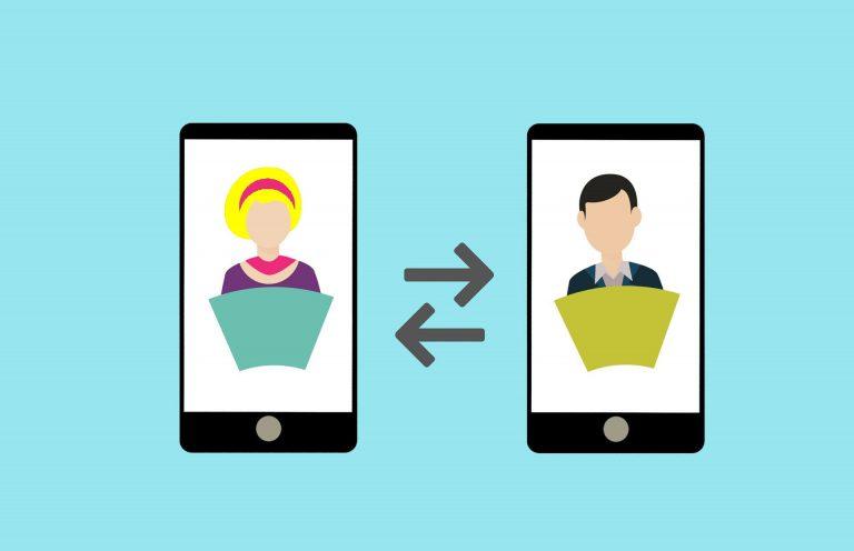 téléconsultation - visio téléphones portables